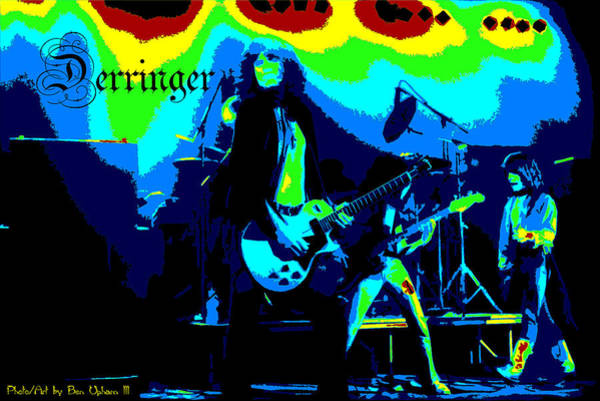 Photograph - Derringer 77 #38 Enhanced In Cosmicolors With Text by Ben Upham