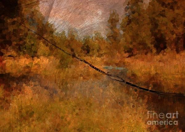 Photograph - Deschutes River Abstract by Carol Groenen