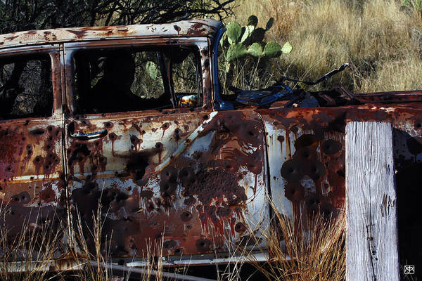 Photograph - Desert Car by John Meader