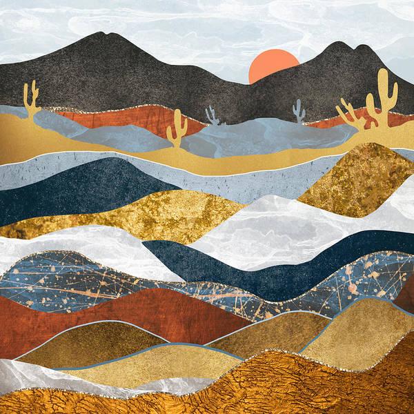 Wall Art - Digital Art - Desert Cold by Spacefrog Designs