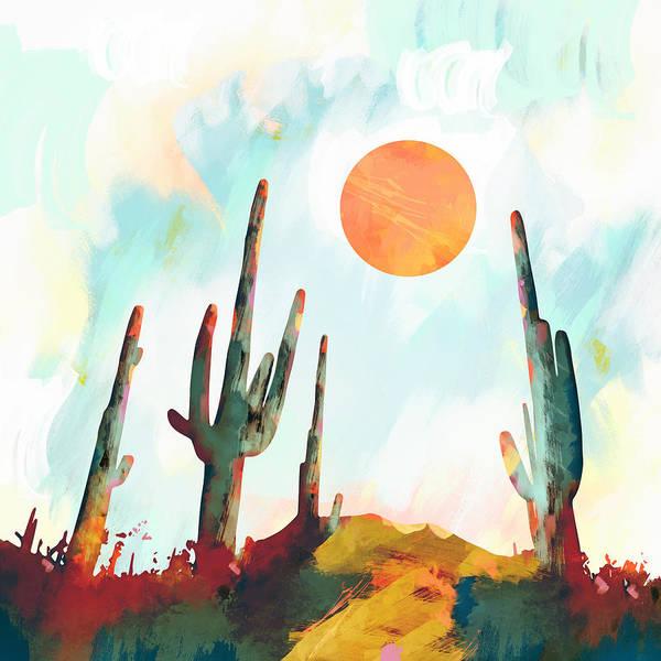 Wall Art - Digital Art - Desert Day by Spacefrog Designs