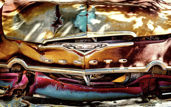 Photograph - Desert Desoto by M G Whittingham