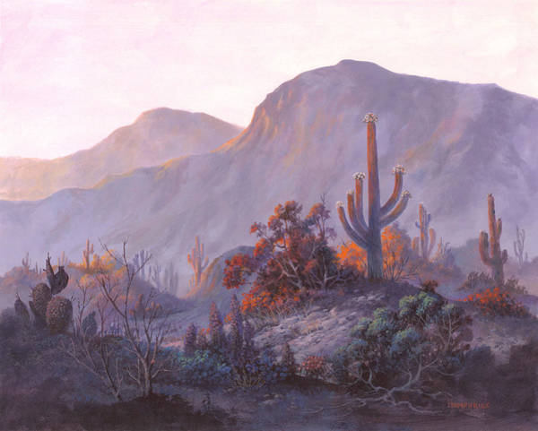 Wall Art - Painting - Desert Dessert by Michael Humphries