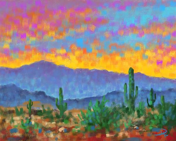 Wall Art - Digital Art - Desert Dream by David G Paul