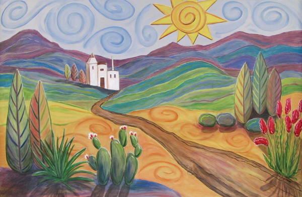 Painting - Desert Dreams by Anita Burgermeister