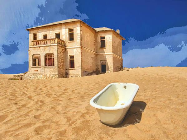 Dune Mixed Media - Desert Dreamscape 3 by Dominic Piperata