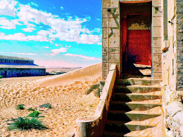 Dune Mixed Media - Desert Dreamscape 5 by Dominic Piperata