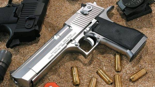 Handguns Photograph - Desert Eagle by Mariel Mcmeeking