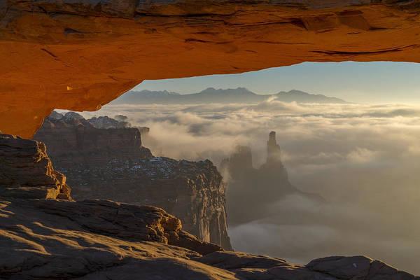 Wall Art - Photograph - Desert Fog by Dustin  LeFevre