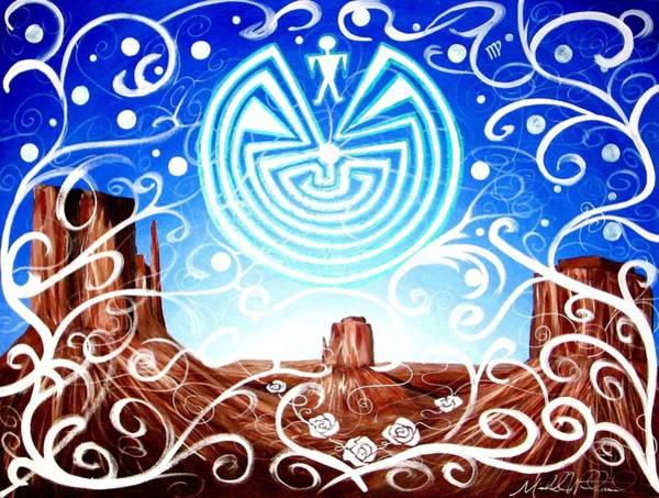 Painting - Desert Hallucinogens by Michelle Dallocchio