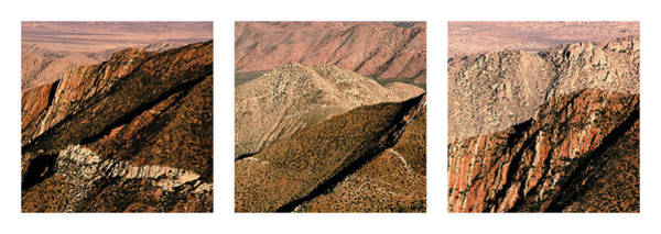 Photograph - Desert Hills Triptych by Alexander Kunz