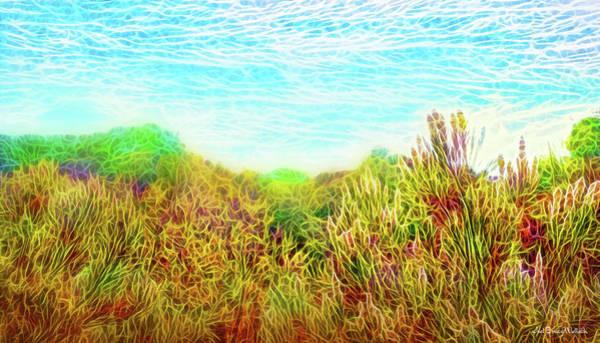 Digital Art - Desert Hillside Gleaming by Joel Bruce Wallach