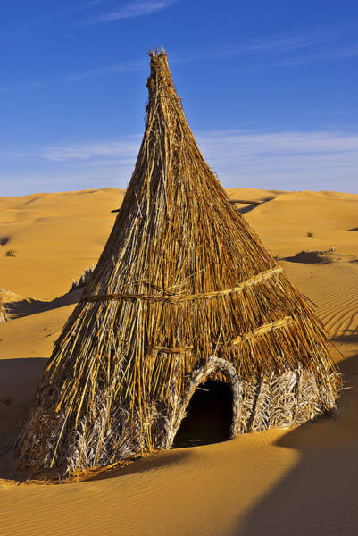 Photograph - Desert Hut by Ivan Slosar