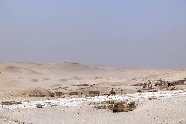 Giza Photograph - desert in Egypt by Joana Kruse