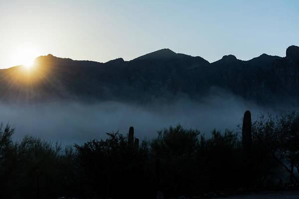 Desert Inversion Sunrise Art Print