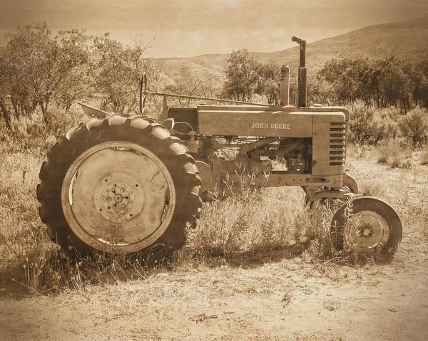 Photograph - Desert Johnny Sepia by David King