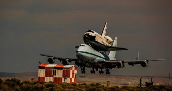Photograph - Desert Landing by Alex Lapidus