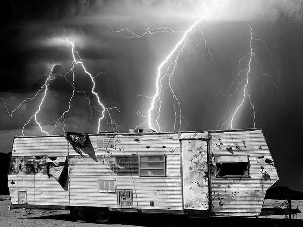 Photograph - Desert Meth Lab by Dominic Piperata