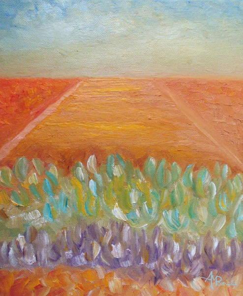Painting - Desert Mood I by Angeles M Pomata