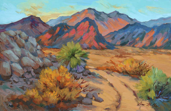 Wall Art - Painting - Desert Morning Light by Diane McClary