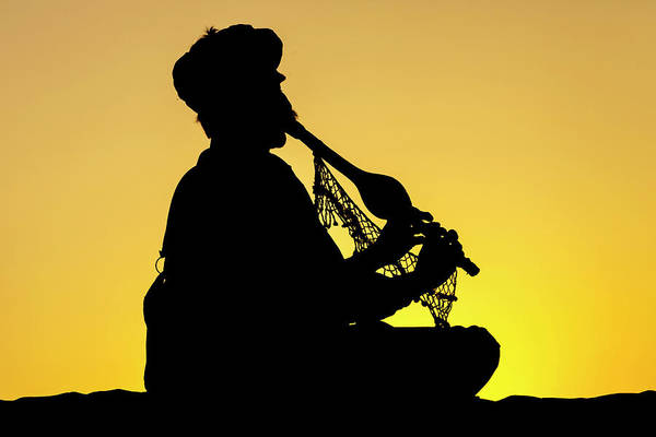 Photograph - Desert Music, Jaisalmer, India by Mahesh Balasubramanian