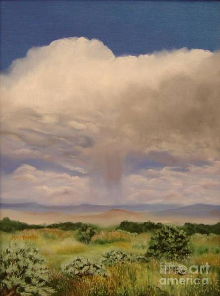 Mary Rogers Painting - Desert Rain by Mary Rogers
