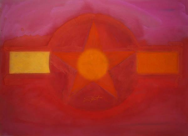 Painting - Desert Red by Charles Stuart