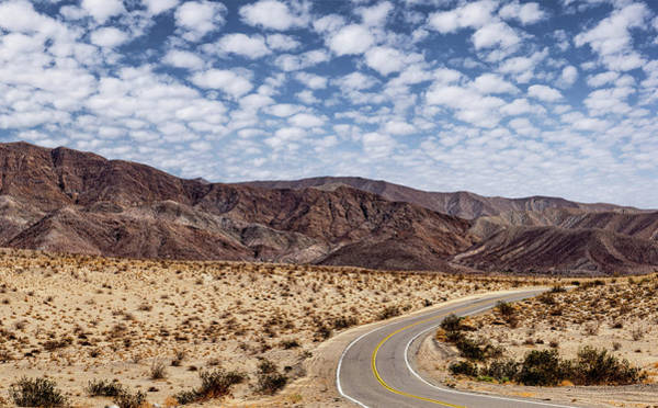 Photograph - Desert Road 5 by Peter Tellone