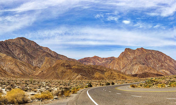Photograph - Desert Road 6 by Peter Tellone