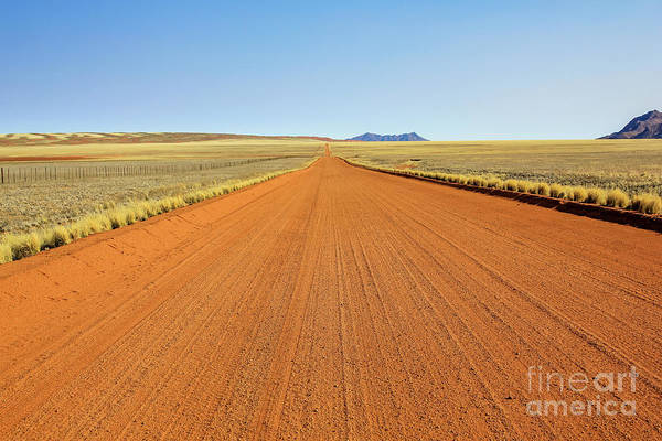 Photograph - Desert Road by Benny Marty
