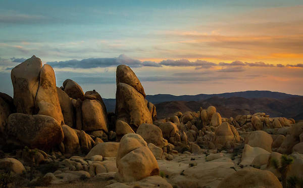 Photograph - Desert Rocks by Ed Clark