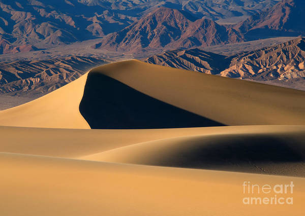 Death Valley Photograph - Desert Sand by Mike Dawson