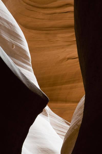 Desert Sandstone Abstract Art Print