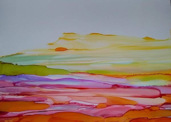 Painting - Desert Steppe by Betsy Carlson Cross