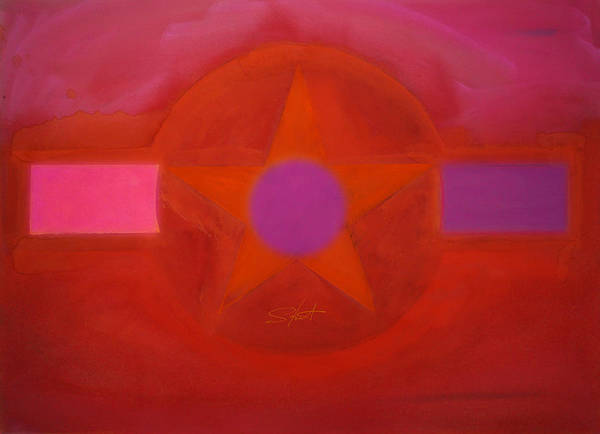 Painting - Desert Storm by Charles Stuart
