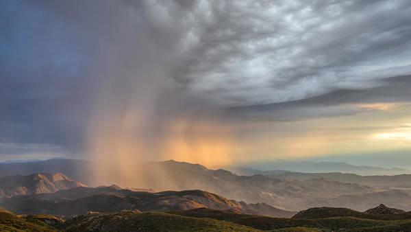 Monsoon Photograph - Desert Storm by Joseph Smith