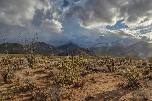 Laguna Mountains Photograph - Desert Storm by Peter Tellone