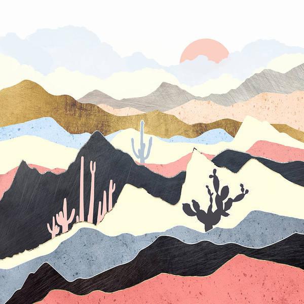 Wall Art - Digital Art - Desert Summer by Spacefrog Designs