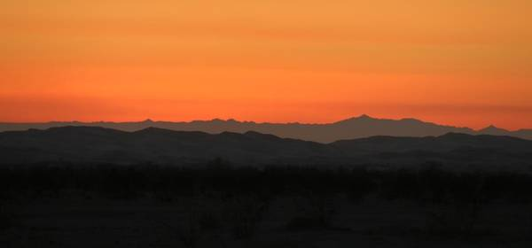 Photograph - Desert Sunset - 2 by Christy Pooschke