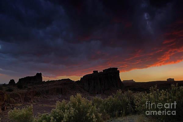 Wall Art - Photograph - Desert Sunset by Rick Mann