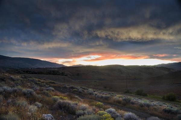 Photograph - Desert Sunset by Rick Mosher