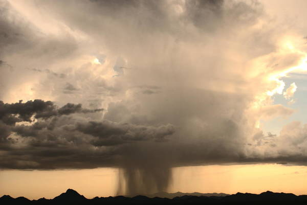 Photograph - Desert Thunderstorm by Broderick Delaney