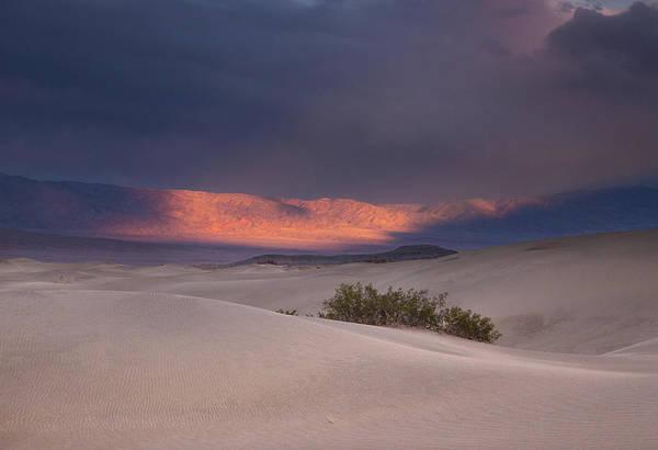 Death Valley Np Photograph - Desert Thunderstorm by Kunal Mehra