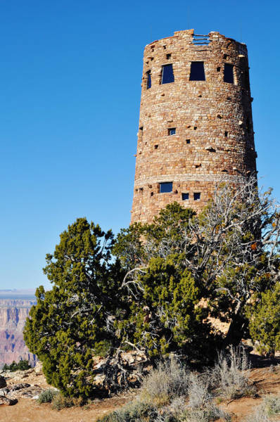 Photograph - Desert View Watchtower Grand Canyon by Kyle Hanson