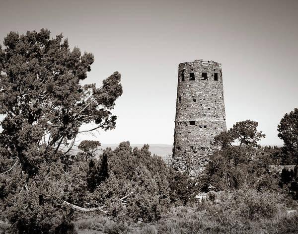 Desert View Tower Photograph - Desert View Watchtower by James Barber