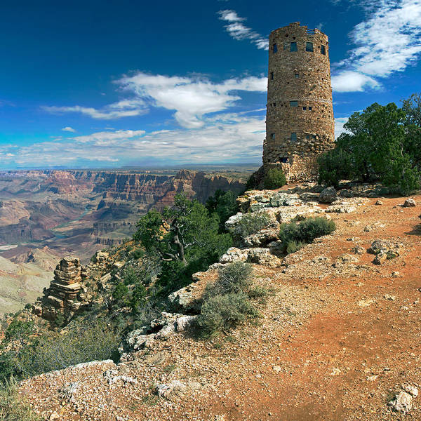 Photograph - Desert View Watchtower by Nicholas Blackwell