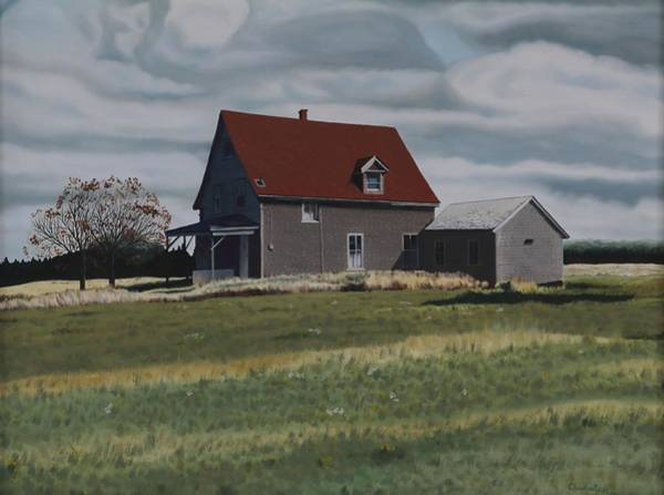 Prince Edward Island Painting - Deserted Dwelling by Phil Chadwick