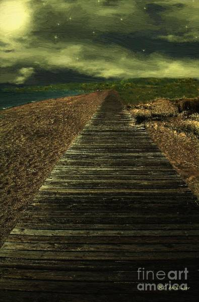 Painting - Deserted by RC DeWinter