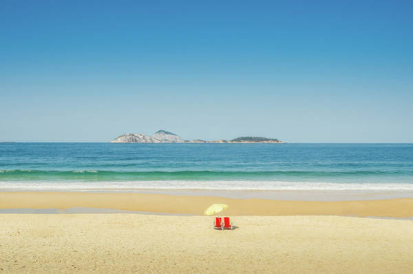Photograph - Deserted Tropical Beach by Alexandre Rotenberg