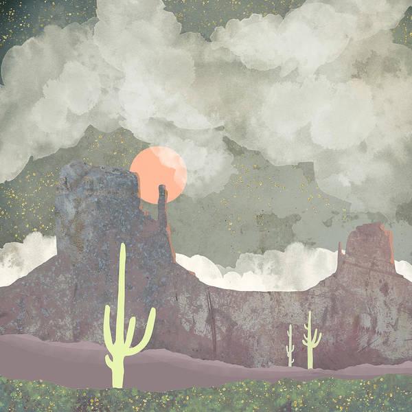 Wall Art - Digital Art - Desertscape by Spacefrog Designs